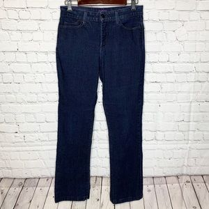 NYDJ Billie Mini Bootcut Blue Denim Jeans